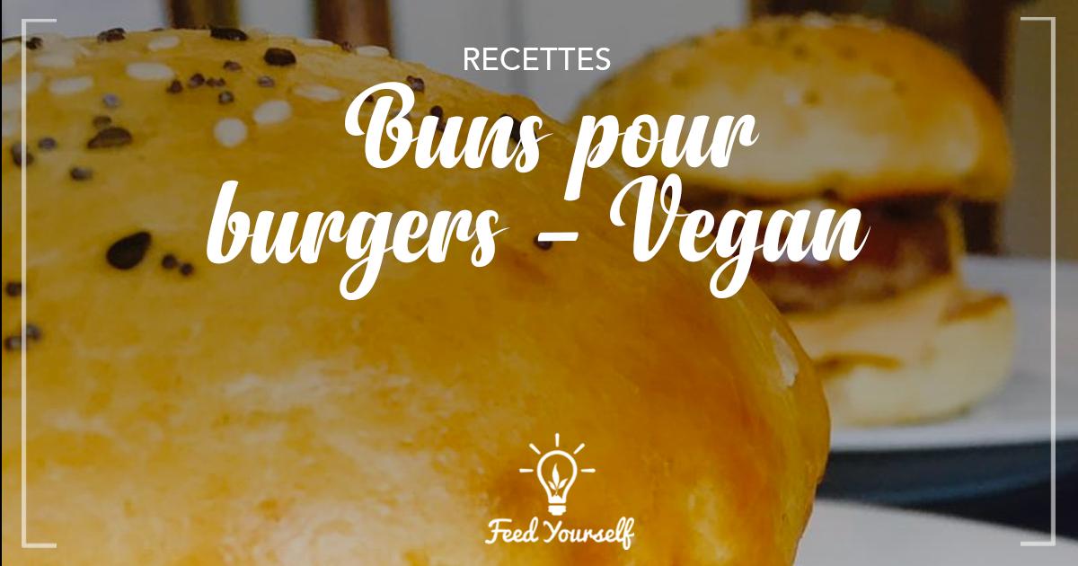 Mes pains à burgers – ou buns gourmands et moelleux
