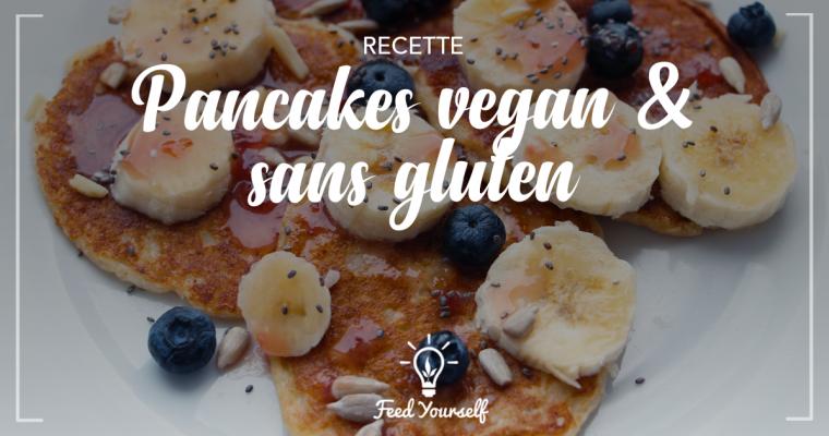 Petit déjeuner : recette facile de pancakes vegan et sans gluten