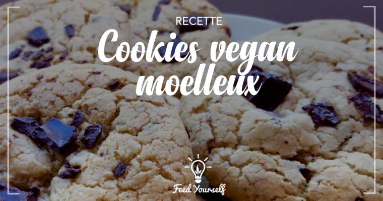 Alerte addiction : ma recette de cookies moelleux vegan